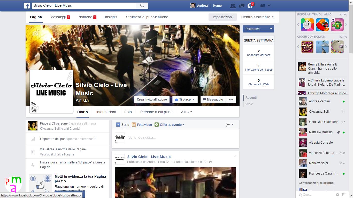 Come aggiungere gestori su pagina facebook
