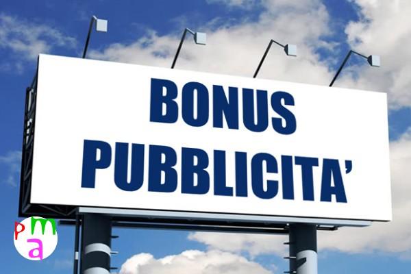 Bonus Pubblicità : è l'ora di richiederlo